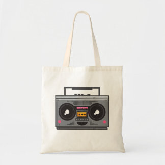 Kawaii Boombox Tote Bag