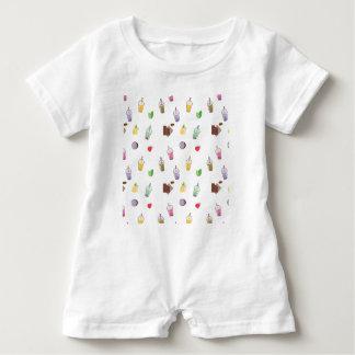 Kawaii Bubble Tea Baby Bodysuit