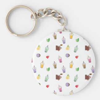 Kawaii Bubble Tea Key Ring
