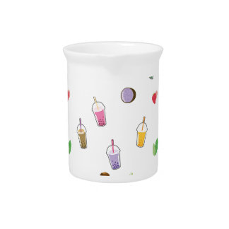 Kawaii Bubble Tea Pitcher
