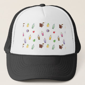 Kawaii Bubble Tea Trucker Hat