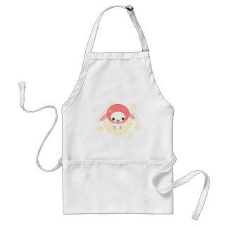 kawaii bunny pink standard apron