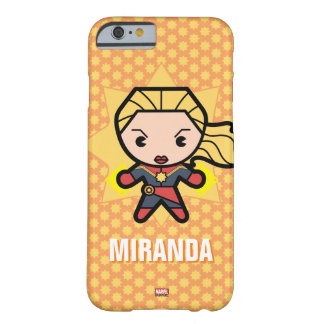 Kawaii Captain Marvel Photon Engery Barely There iPhone 6 Case