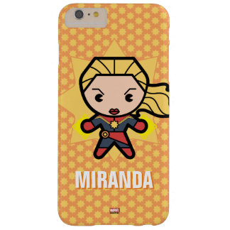 Kawaii Captain Marvel Photon Engery Barely There iPhone 6 Plus Case