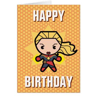 Kawaii Captain Marvel Photon Engery Card