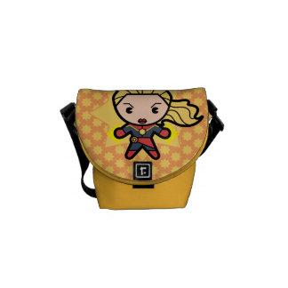 Kawaii Captain Marvel Photon Engery Courier Bag