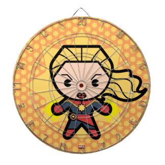 Kawaii Captain Marvel Photon Engery Dartboard