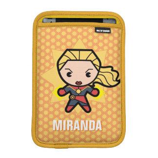 Kawaii Captain Marvel Photon Engery iPad Mini Sleeve