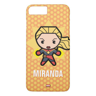 Kawaii Captain Marvel Photon Engery iPhone 8 Plus/7 Plus Case