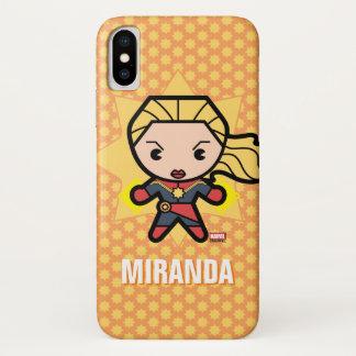 Kawaii Captain Marvel Photon Engery iPhone X Case