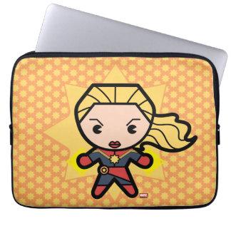Kawaii Captain Marvel Photon Engery Laptop Sleeve