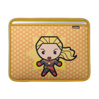 Kawaii Captain Marvel Photon Engery MacBook Sleeve