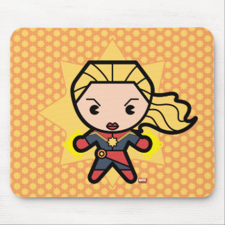 Kawaii Captain Marvel Photon Engery Mouse Pad