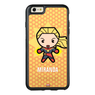 Kawaii Captain Marvel Photon Engery OtterBox iPhone 6/6s Plus Case