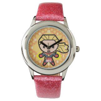 Kawaii Captain Marvel Photon Engery Watch