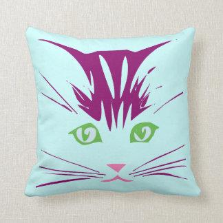 Kawaii Cartoon Sweet Cute Kitty Cat Face Pillows