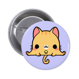 Kawaii Cat (You change the Background!) 6 Cm Round Badge