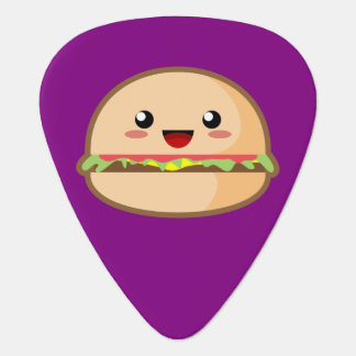 Kawaii Cheeseburger Guitar Pick