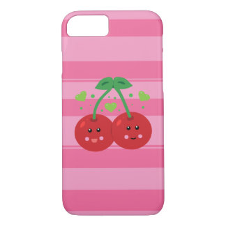 Kawaii Cherry iPhone Case