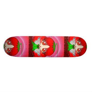 Kawaii Chibi Tomato Fairy 20 Cm Skateboard Deck