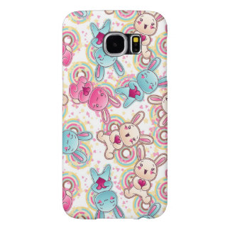 Kawaii Child Pattern with Cute Doodles 2 Samsung Galaxy S6 Cases