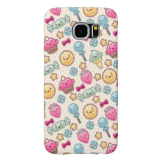 Kawaii child pattern with cute doodles samsung galaxy s6 cases