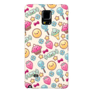 Kawaii child pattern with cute doodles galaxy note 4 case