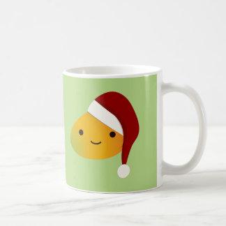 Kawaii Christmas Mango Coffee Mug