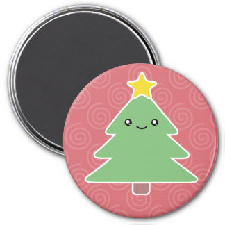 Kawaii Christmas Tree Magnet