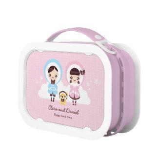 Kawaii Clara - Winter (pink) Lunch Box