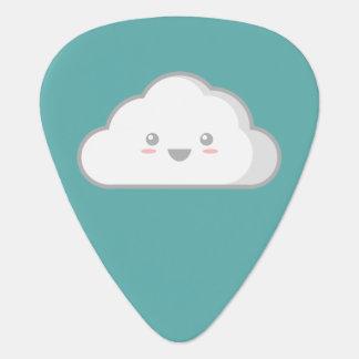 Kawaii Cloud Guitar Pick