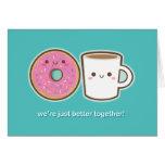 Kawaii Coffee & Doughnut