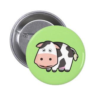 Kawaii Cow 6 Cm Round Badge