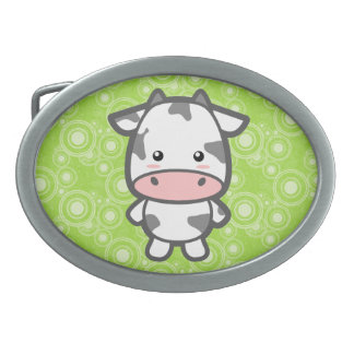 Kawaii Cow Belt Buckles