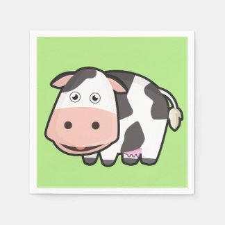 Kawaii Cow Disposable Serviette