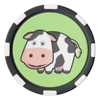 Kawaii Cow Poker Chips