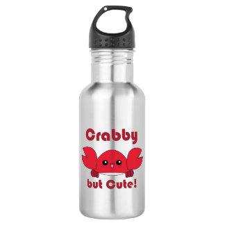 Kawaii Crabby but Cute 532 Ml Water Bottle