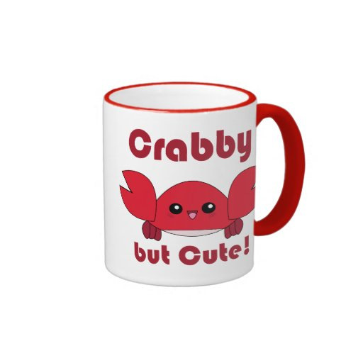 Kawaii Crabby but Cute mug