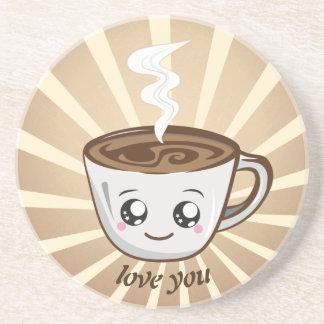 Kawaii Cup of coffee Coaster