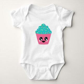 Kawaii Cupcake Baby Bodysuit