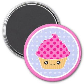Kawaii Cupcake Magnet