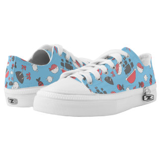 Kawaii Cute Baby Pirate. Low Tops