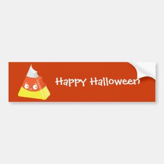 Kawaii Cute Bitten Candy Corn Car Bumper Sticker