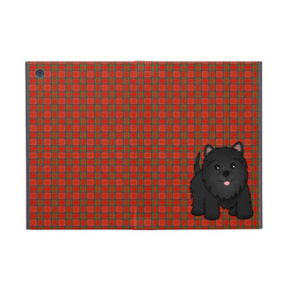 Kawaii Cute Black Scottish Terrier Puppy Dog Covers For iPad Mini