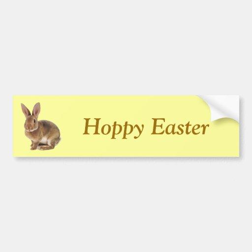 Kawaii Cute Bunny Rabbit Bumper Sticker