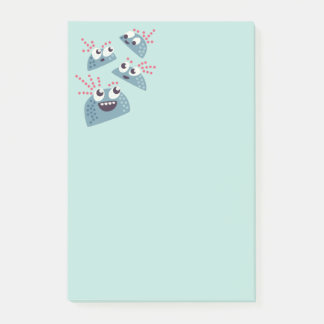 Kawaii Cute Cartoon Candy Friends Kids Post-it Notes