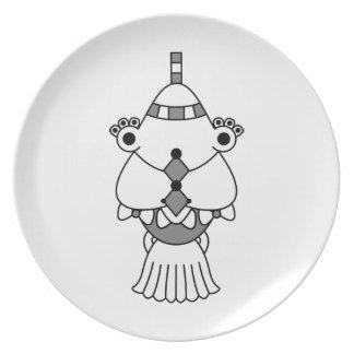 Kawaii cute cartoon character plates dinner plates