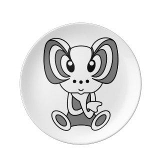 Kawaii cute cartoon character plates porcelain plates