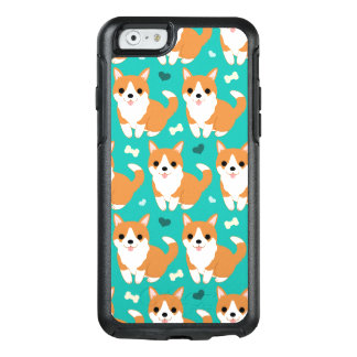 Kawaii Cute Corgi dog simple illustration pattern OtterBox iPhone 6/6s Case