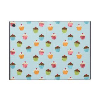 Kawaii cute girly cupcake cupcakes foodie pattern iPad mini cover